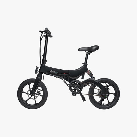 Metro Folding Electric Bike Black