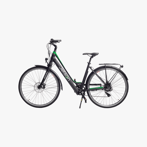 Journey Electric Bike Black/Green