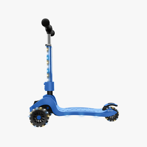 Saturn Folding Kick Scooter blue
