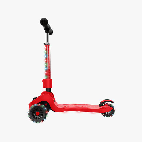 Saturn Folding Kick Scooter red