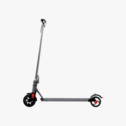 Slate Folding Electric Scooter Silver