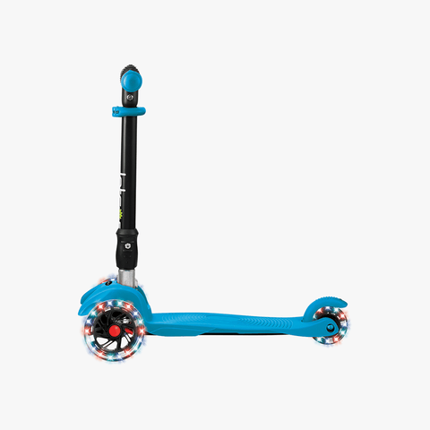 Solo Folding Kick Scooter Blue