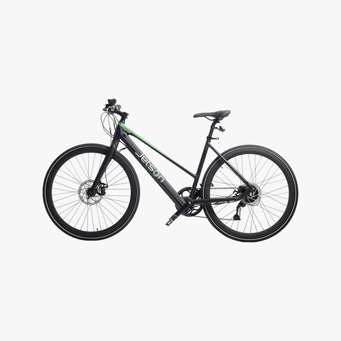 Trekker Electric Bike Black/Green