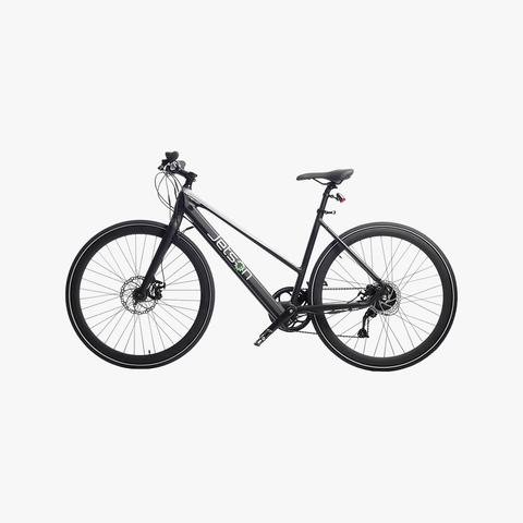 Trekker Electric Bike Black/Silver
