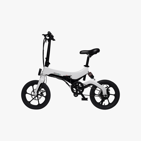 Metro Folding Electric Bike White