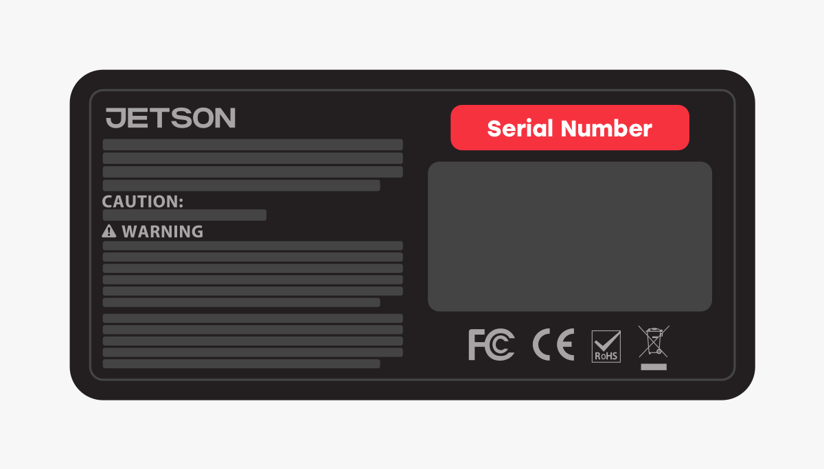 serial number guide image