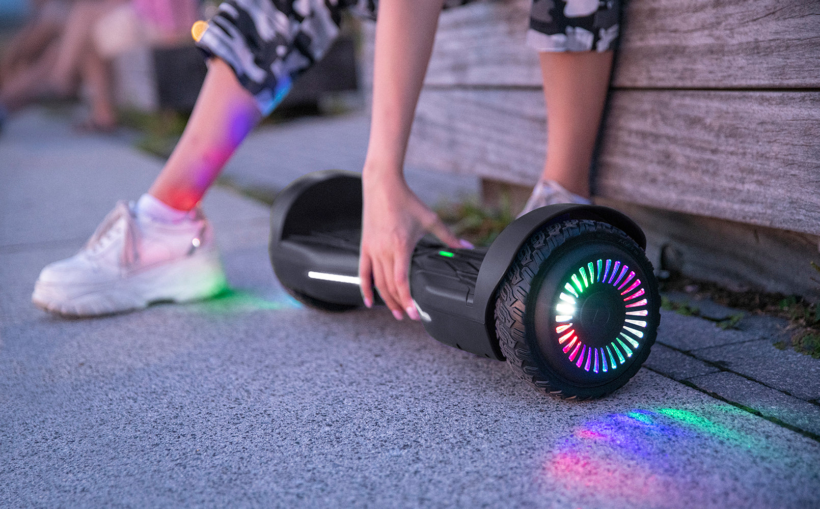 LED light up wheels