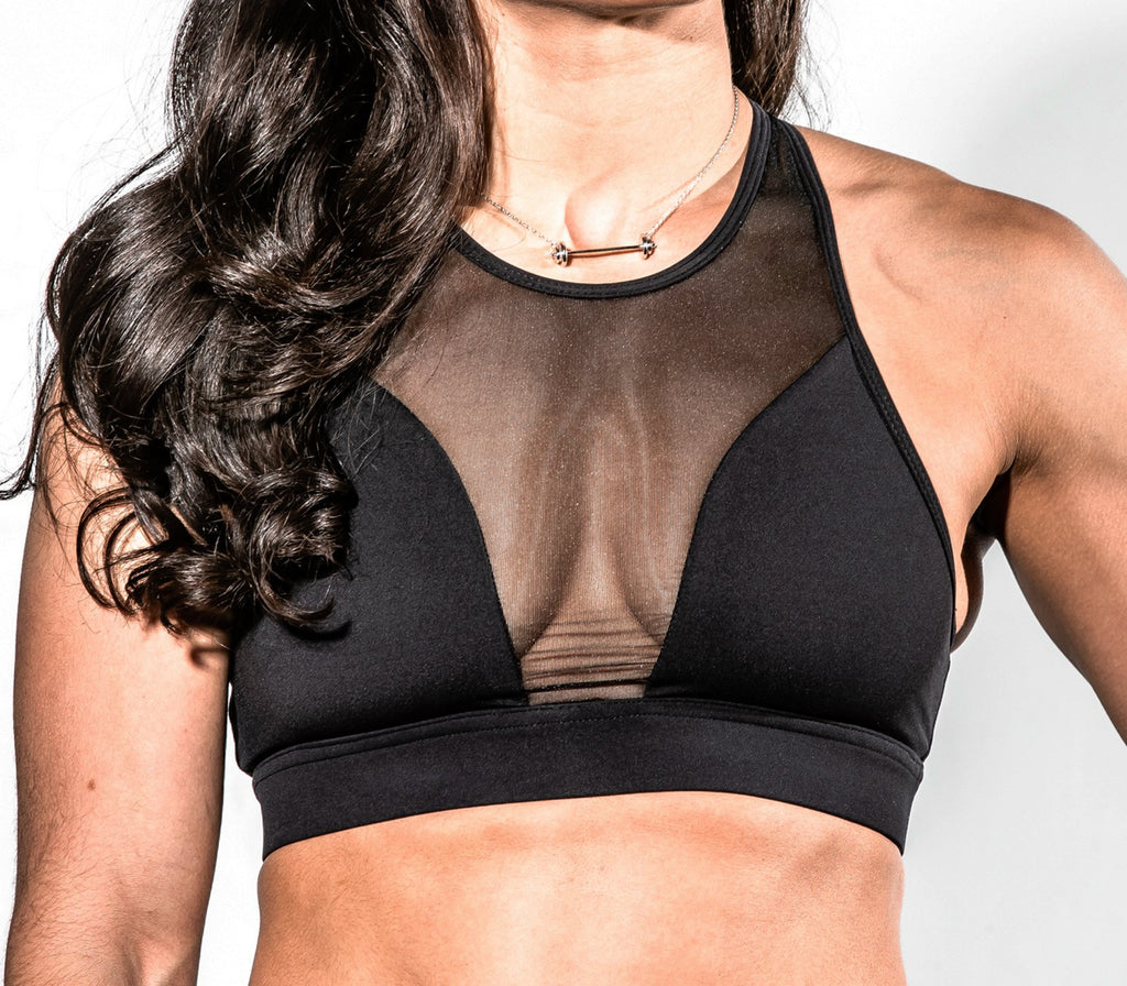 "The Roxanne Bra in Black | ""The Roxanne Bra"" en Noir - Unbroken Designs - Canada"