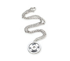 Lift Heavy Men's Pendant - Unbroken Designs - Canada