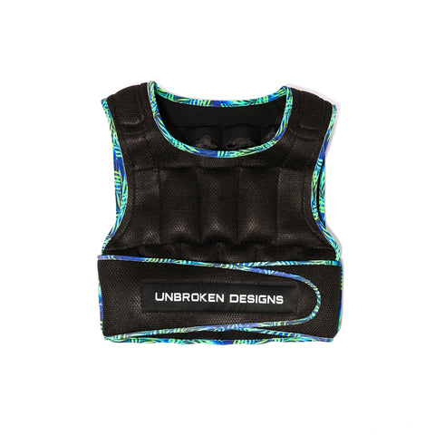 Paradise City 30lb Weight Vest - Unbroken Designs - Canada