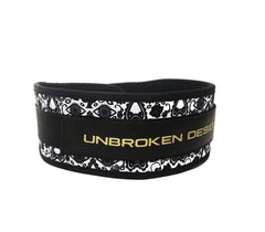 Dia De Los Muertos Weight Belt - Unbroken Designs - Canada