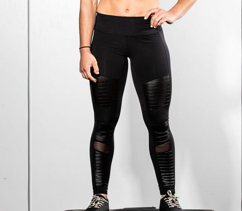 "The Jane Leggings in Black | Legging ""The Jane"" en Noir - Unbroken Designs - Canada"