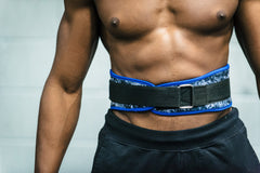 Blue Stealth Lifting Belt - Unbroken Designs - Canada