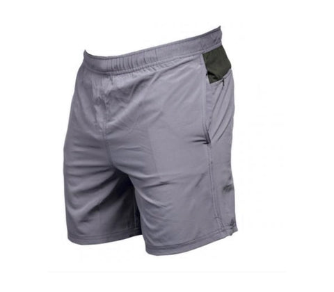 "The Ruckus Shorts in Heathered Grey | ""The Ruckus Shorts"" en Gris Bruyère - Unbroken Designs - Canada"