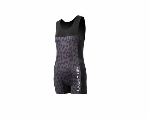 Leopard and Lace Singlet - Unbroken Designs - Canada