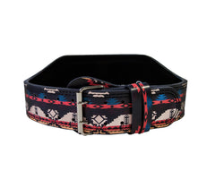 Native Roots Leather Lifting Belt - Unbroken Designs - Canada