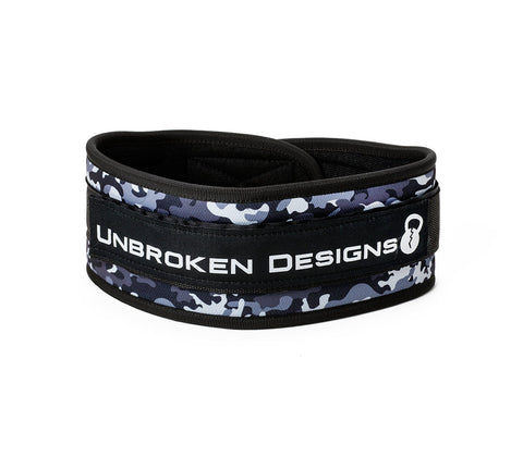 Grey Camo Lifting Belt - Unbroken Designs - Canada