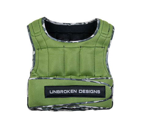 Army Crawl 14kg Weight Vest - Unbroken Designs - Canada