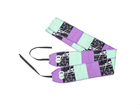 Block Party Wrist Wraps - Unbroken Designs - Canada