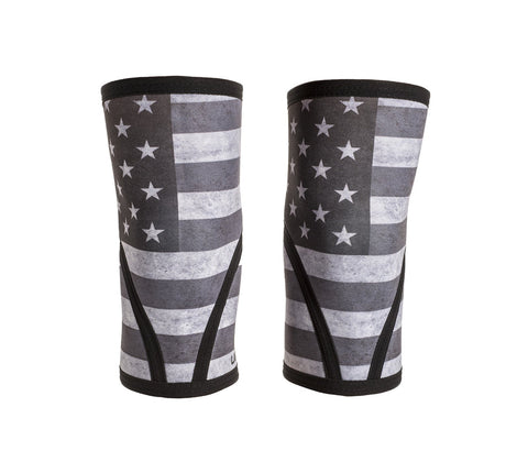 Stars and Stripes Knee Sleeves - Unbroken Designs - Canada