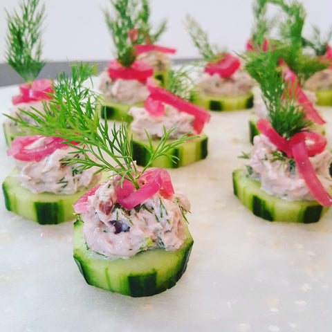 cucumber tuna salad