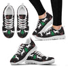 Hackney Horse Print Christmas Running Shoes For Women-Free Shipping