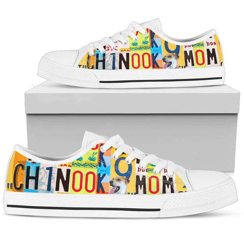 Women's Low Top Canvas Shoes For Chinook Mom