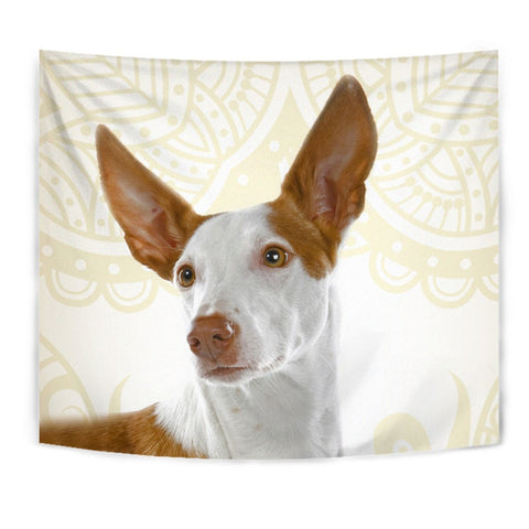 Ibizan Hound Print Tapestry-Free Shipping