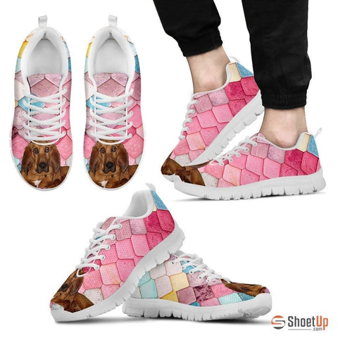 Bloodhound Dog-Running Shoes For Men-Free Shipping
