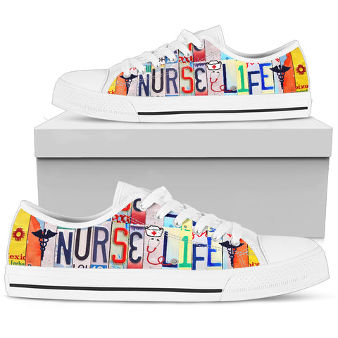 Nurse Life Low Top Shoes