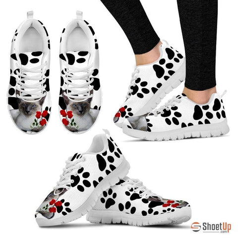Javanese Cat Print Running Shoes For Women-Free Shipping