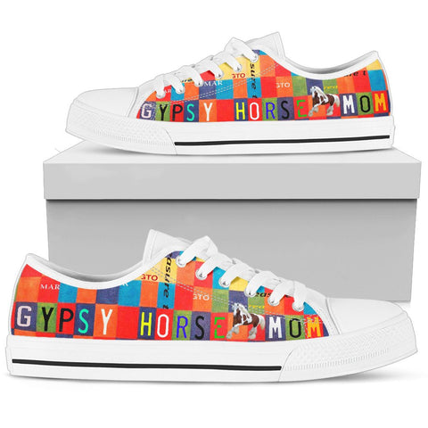 Women's Low Top Canvas Shoes For Gypsy horse Mom