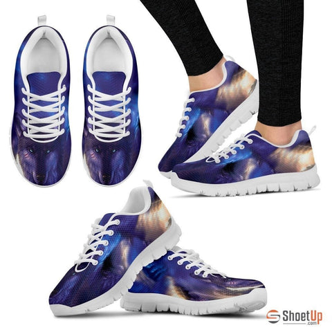 Blue Wolf-Men And Women's Running Shoes-Free Shipping
