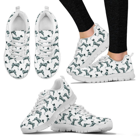 Basenji Dog Pattern Print Sneakers For Women- Express Shipping