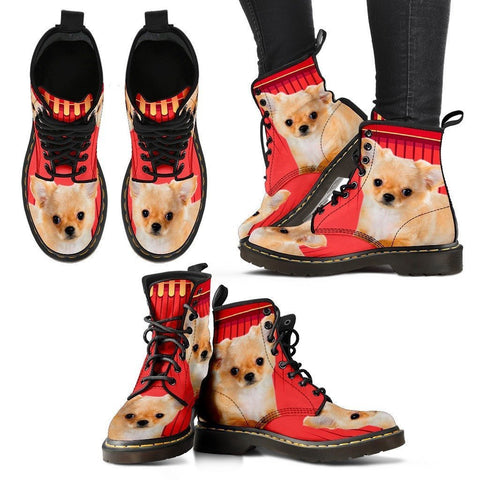 Chihuahua Print Boots For Women-Express Shipping