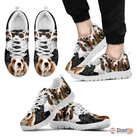 Basset Hound-Dog Running Shoes For Men-Free Shipping Limited Edition