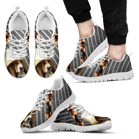 Stylish Basset Hound-Dog Running Shoes For Men-Free Shipping Limited Edition