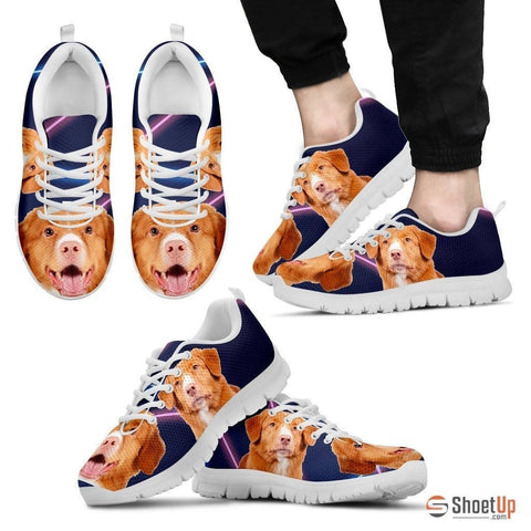 Nova Scotia Duck Tolling Retriever Dog Running Shoes For Men-Free Shipping