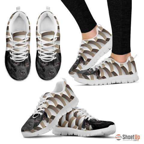 Staffordshire Bull Terrier Dog Running Shoes For Women-Free Shipping