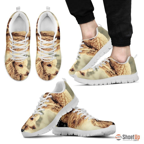 Cute Poodle Dog-Running Shoes For Men-Free Shipping