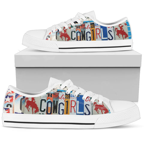 Cowgirls Low Top Shoes