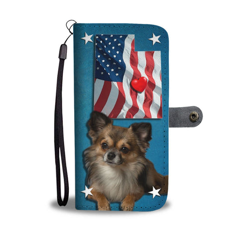 Chihuahua Print Wallet Case-Free Shipping-Ut State