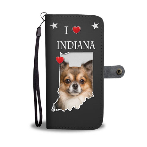 Amazing Chihuahua Print Wallet Case-Free Shipping-IN State