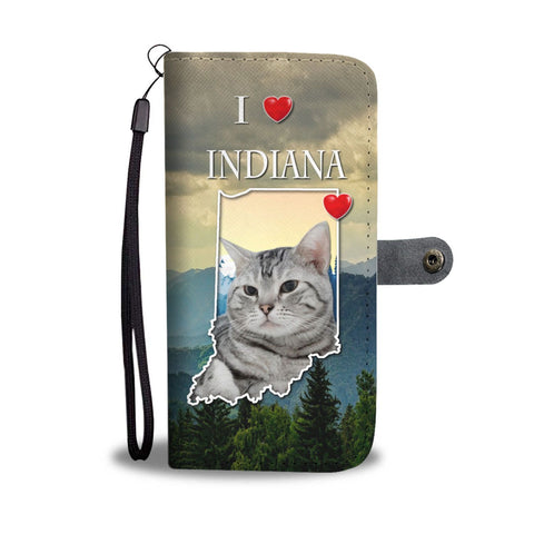 American Shorthair Cat Print Wallet Case-Free Shipping-IN State