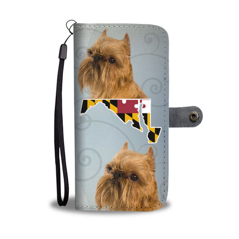 Brussels Griffon Print Wallet Case-Free Shipping-MD State