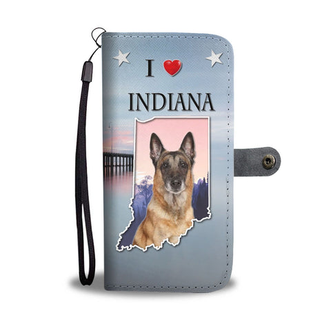 Belgian Malinois Dog Print Wallet Case-Free Shipping-IN State