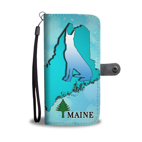 Great Dane Dog Art Print Wallet Case-Free Shipping-ME State