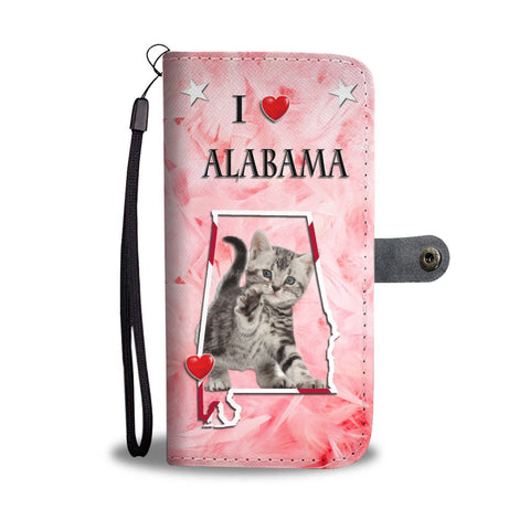 American Shorthair Cat Print Wallet Case-Free Shipping-AL State