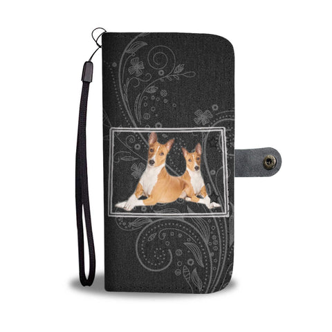 Basenji Dog Print Wallet Case-Free Shipping-CO State