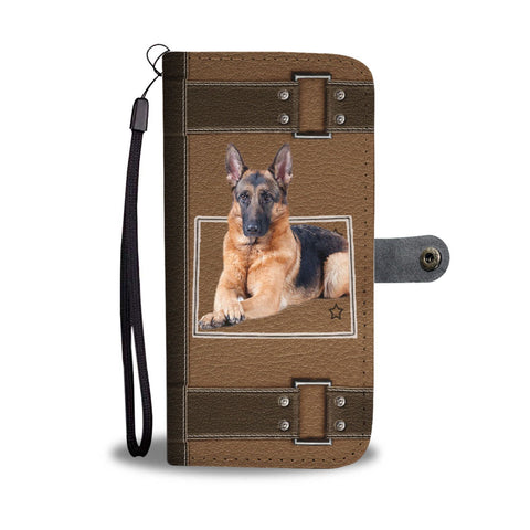 German Shepherd Print Wallet Case-Free Shipping-CO State